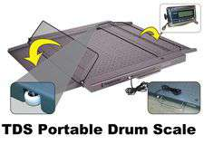 TDS Portable Drum Scale Products