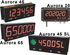 Aurora Western Weighing Tech. Remote Display Products